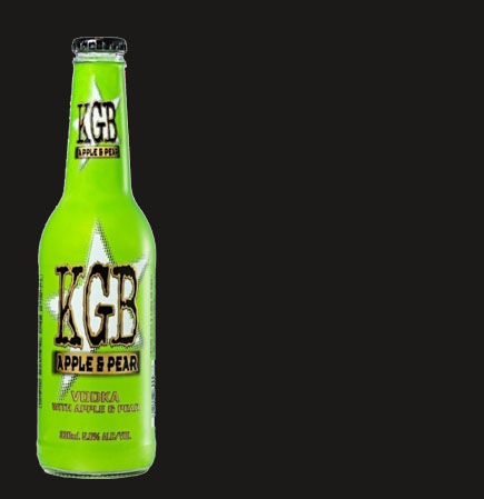 KGB Vodka with Apple & Pear